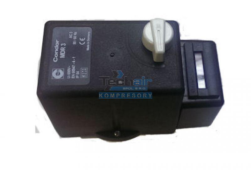 Tlakový spínač CONDOR MDR 3/11 - 16 A(51) s počítadlem motohodin
