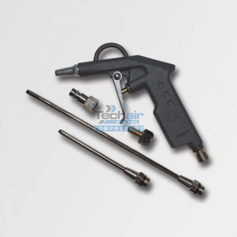 Ofukovací pistole s nástavci LA-11