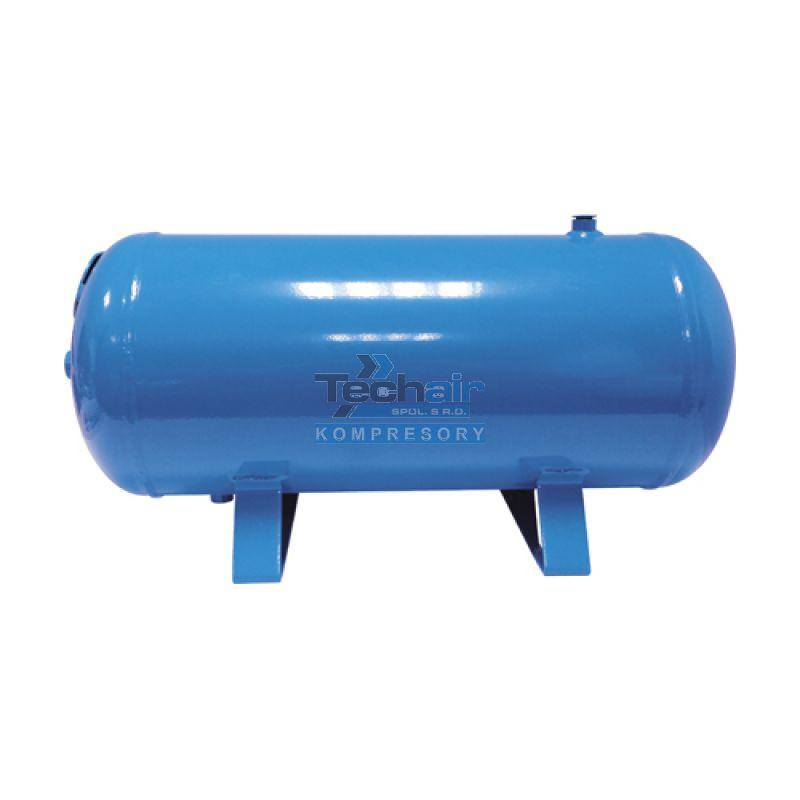 Ležatá tlaková nádoba (vzdušník) 24 l, 11 bar, lakovaná - VHP24-11