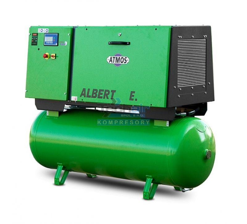 Šroubový kompresor Atmos ALBERT E.220 Vario s karosérií