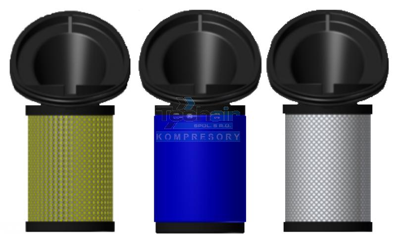 Filtrační vložka DELTECH 14 - S3, P3, H3, C3 (Al)