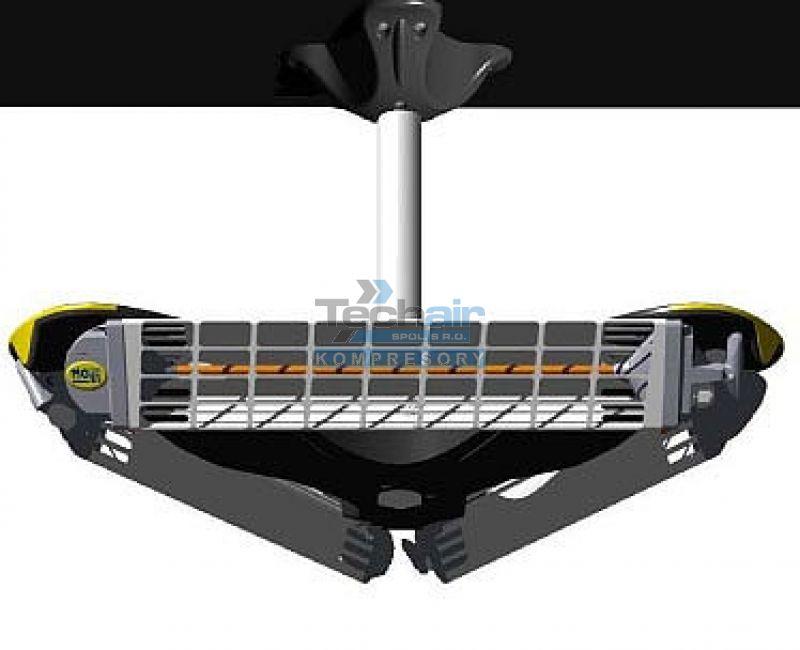Infračervený zářič (teplomet) GIROSOLE 769S