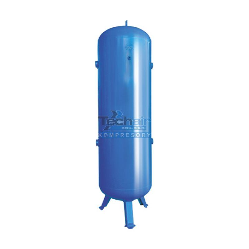 Stojatá tlaková nádoba (vzdušník) 1000 l, 12 bar, lakovaná - VVP1000-12