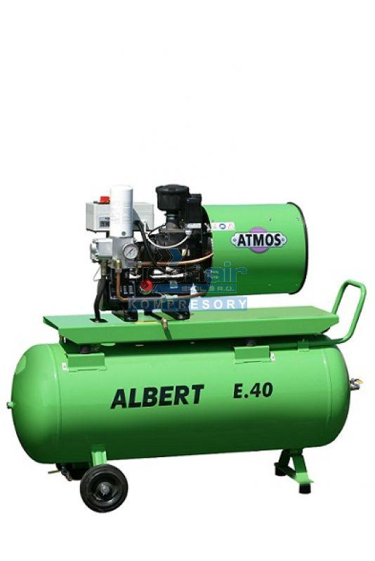 Šroubový kompresor Atmos ALBERT E.40