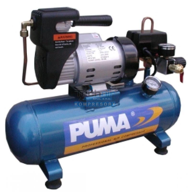Bezolejový kompresor PUMA MC0206 airbrush