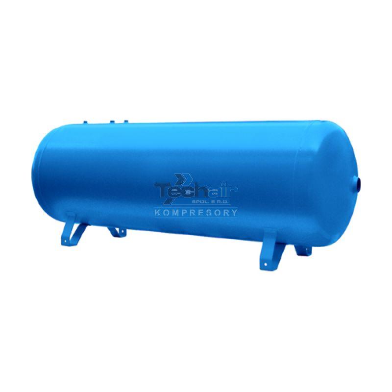 Ležatá tlaková nádoba (vzdušník) 1000 l, 16 bar, lakovaná - VHP1000-16