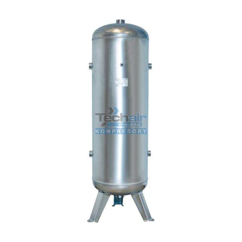 Stojatá tlaková nádoba nerezová (vzdušník) 50 l, 11 bar, nerezová ocel AISI304 - VVS50-11