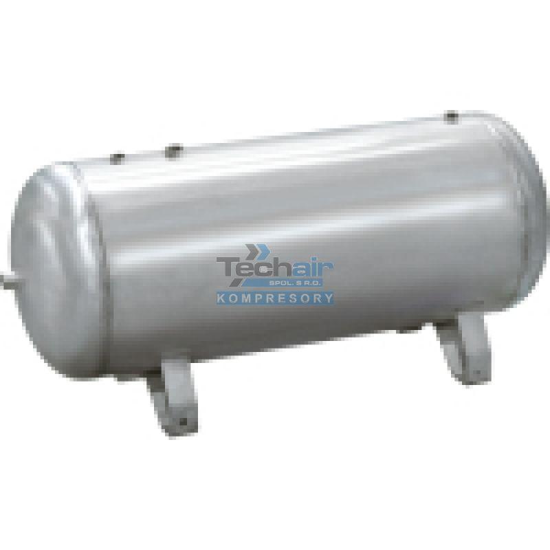 Ležatá tlaková nádoba nerezová (vzdušník) 150 l, 11 bar, nerezová ocel AISI316L - VHX150-11