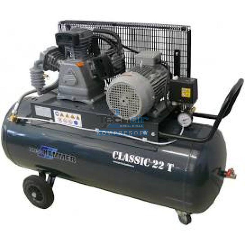 Pístový kompresor Classic 22 T/100