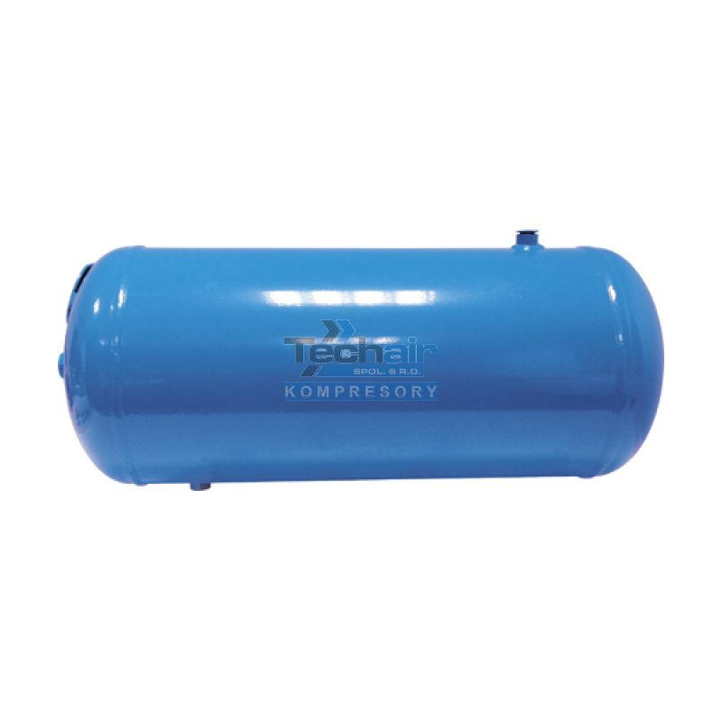 Ležatá tlaková nádoba (vzdušník) 50 l, 11 bar, lakovaná - VLP50-11